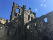 Kirkstall Abbey in Leeds 19. Kirkstall Abbey is a ruined Cistercian monastery in Kirkstall, north-west of Leeds city centre in West Yorkshire, England. It is set Stock Photo