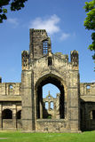 Kirkstall Abbey, Leeds, UK. Kirkstall Abbey in Leeds, UK in summer day Royalty Free Stock Images