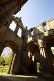 Medieval Kirkstall Abbey near Leeds. UK. Kirkstall Abbey is a ruined Cistercian monastery in Kirkstall, north-west of Leeds city centre in West Yorkshire Royalty Free Stock Photos