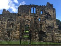 Kirkstall Abbey in Leeds 11. Kirkstall Abbey is a ruined Cistercian monastery in Kirkstall, north-west of Leeds city centre in West Yorkshire, England. It is set Royalty Free Stock Image