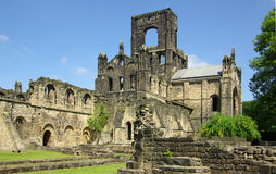 Kirkstall abbotskloster, Leeds, Britannien Arkivbild