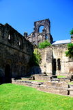 Kirkstall abbotskloster, Leeds, England Royaltyfria Foton