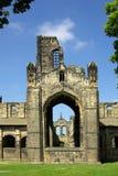 Kirkstall abbotskloster, Leeds, UK Royaltyfria Bilder
