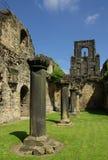 Kirkstall abbotskloster, Leeds, UK Royaltyfri Fotografi