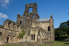 Kirkstall Abtei stockbilder
