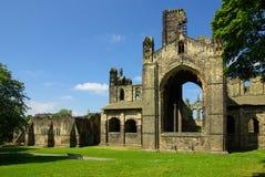 Kirkstall-Abtei, Leeds, Großbritannien Stockfotografie