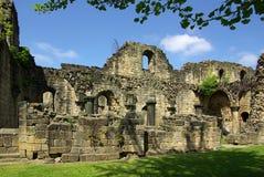 Kirkstall-Abtei, Leeds, Großbritannien Stockbild