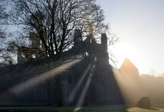 Kirkstall Abtei, Leeds, West Yorkshire Stockfotografie