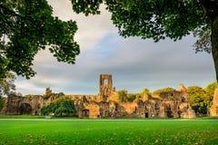 Kirkstall-Abtei, Leeds-Westen Yorkshire, England Lizenzfreie Stockbilder