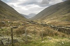 Kirkstone Pass Cumbria Stock Image