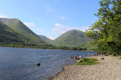 Kirkstone Pass, Red Screes, Brothers Water Cumbria Stock Image