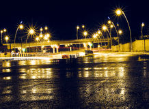 Kirkuk city after rain Royalty Free Stock Photo