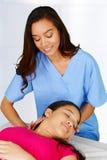 kiropraktor royaltyfri fotografi