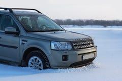 KIROW, RUSSLAND am 3. Dezember 2016: Land Rover Freelander 2 Lizenzfreie Stockbilder