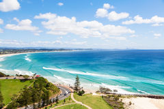Kirra Beach on the Gold Coast Royalty Free Stock Images