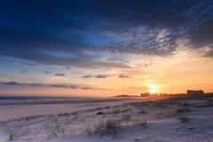 Kirra Beach at sunrise (Queensland, Australia) Royalty Free Stock Photo
