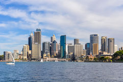 从Kirribilli的CBD在悉尼,澳大利亚 库存照片