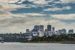 Kirribilli business district skyline, Sydney Australia. Stock Photos