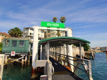Kirribilli Ferry Stop, Sydney harbour, Australia Stock Photo