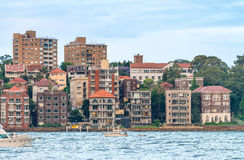 Kirribilli Homes, Sydney - Australia Royalty Free Stock Image