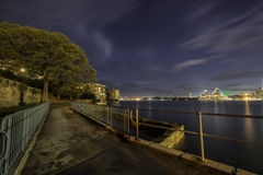 Kirribilli Riverside Royalty Free Stock Images