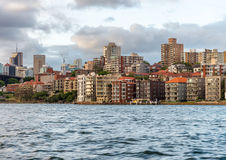 Kirribilli skyline at dusk, Sydney Stock Photography