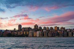 Kirribilli suburb of Sydney at sunset Stock Photos