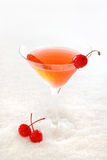 Kirschcocktail Stockbild