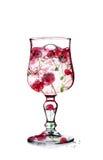 Kirsche im Glas Lizenzfreie Stockfotografie