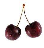 Kirsche zwei Stockfoto