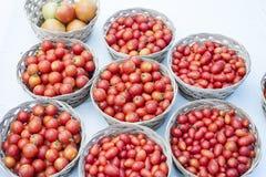 Kirschtomaten Stockfoto