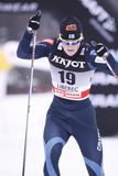 Kirsi Peraelae - cross country skier Stock Photos