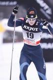 Kirsi Peraelae - cross country skier Stock Photos