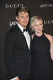 Kirsten Dunst & Garrett Hedlund Royalty Free Stock Photography