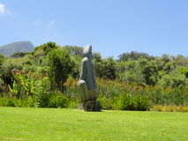 Kirstenbosch Botanical Stone Sculpture Garden Stock Photography