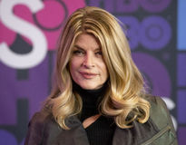 Kirstie Alley royaltyfria bilder