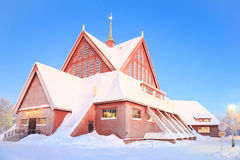 Kiruna Church lapland Sweden Stock Images