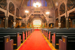 Kiruna cathedral interior. Lapland Sweden Stock Photography