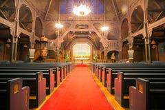 Kiruna cathedral interior Stock Photography