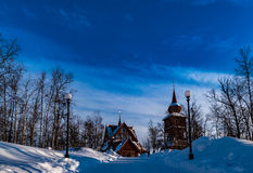 Kiruna Church. Church in Kiruna which was build in 1912 Royalty Free Stock Photos