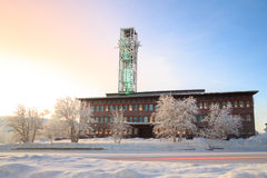 Kiruna City Hall Royalty Free Stock Images