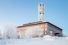Kiruna City Hall Sweden Royalty Free Stock Photos