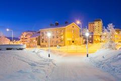 Kiruna Cityscape Royalty Free Stock Image