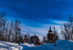 Kiruna kyrka Royaltyfria Foton
