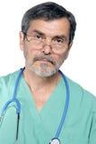 kirurg för doktorsmd-läkarundersökning Arkivfoton