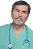 kirurg för doktorsmd-läkarundersökning Arkivbild