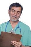 kirurg för doktorsmd-läkarundersökning Royaltyfri Bild