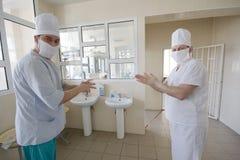 kirurgar Arkivfoto