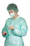 kirurgisk maskering Royaltyfria Foton