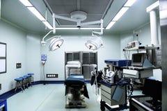 Kirurgisk operation i sjukhuset Arkivfoton